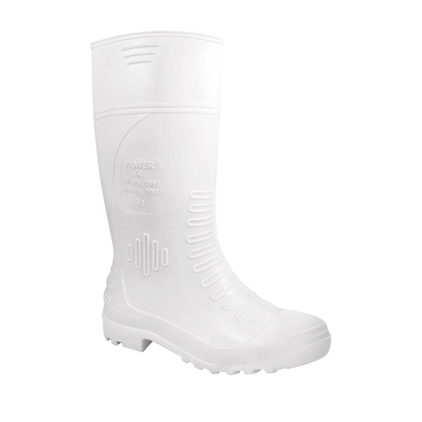 2090 bota blanca antibacterias caucho nitrilo antiestatica