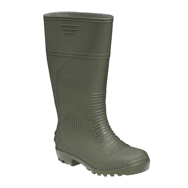 2091 Verde S5 bota alta impermeable