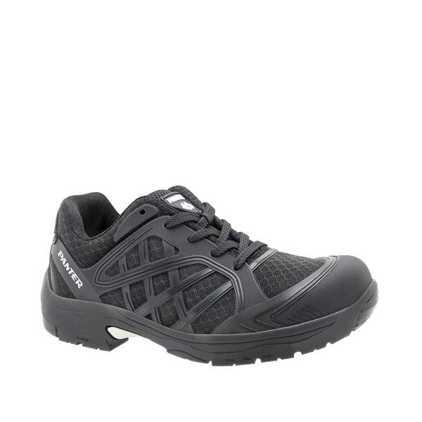 zapatilla deportiva seguridad panter argos flexible ligero negro