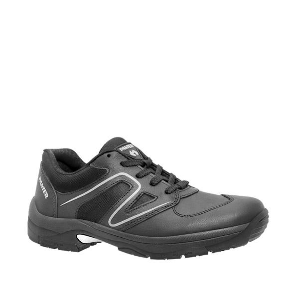 Deportivo 800 Negro zapatilla deportiva negra piel descanso