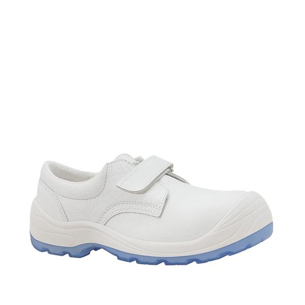 Diamante Totale velcro zapato antideslizante antibacterias velcro blanco