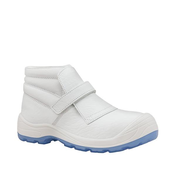 Fragua Velcro totale S2 Blanco bota blanca antibacterias velcro