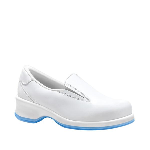 RAQUEL BLANCO calzado laboral mujer tacon blanco