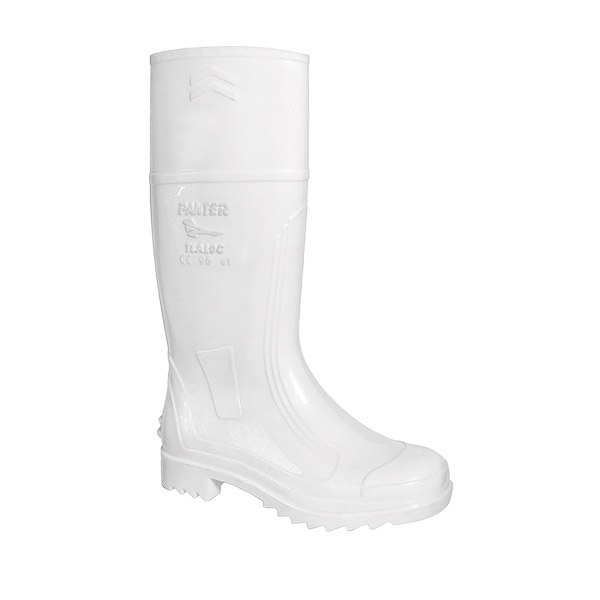 TLALOC bota alta blanca antibacterias impermeable