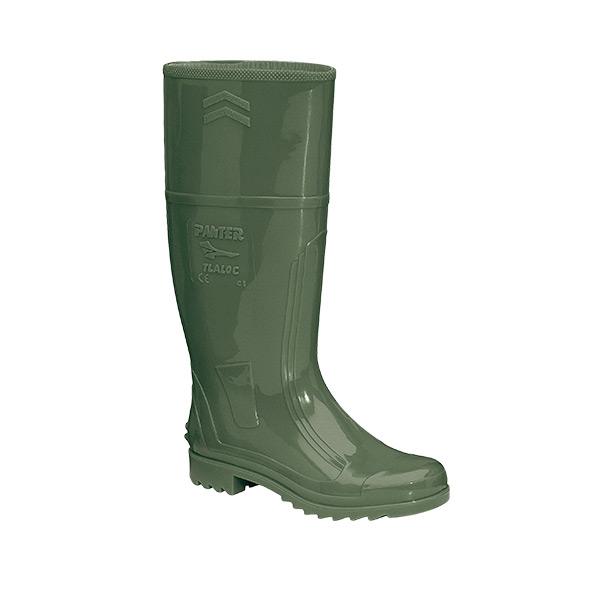 Tlaloc Verde bota pvc caucho alta