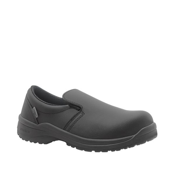 Zagros Negro S2 zapato mocasin antibacteriano velcro
