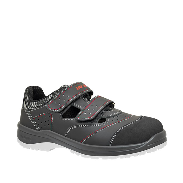 atlantis link sandalia seguridad ergonomica velcro