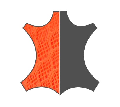 b180643dab2 Textil Tecnológico Naranja de Alta Resistencia combinado con Poliuretano  Flexible