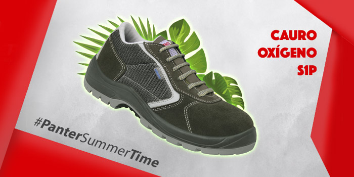 51e087c2 Di Stop al calor y al sudor con Cauro Oxígeno S1P, el calzado de seguridad  más transpirable de Panter
