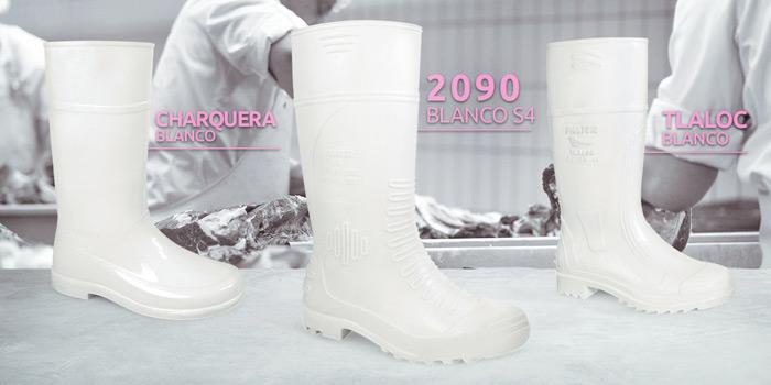 Botas Agua Panter 2090 Blanca S4 Alimentacion. 100